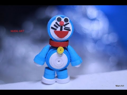 Quilling Doreamon miniature