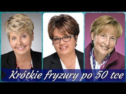 Najlepsze Krótkie Fryzury Damskie Dla Pań Po 50 игровое