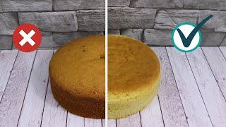 10 + 1 Cake Bakings Mistakes to Avoid