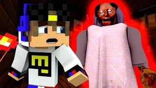 КАК СБЕЖАТЬ ОТ БАБУШКИ ГРЕННИ? Майнкрафт ужасы бабка Granny секрет видео карта для детей Minecraft