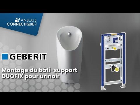 Montage du bâti-support Duofix GEBERIT pour urinoir