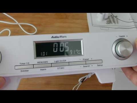 AudioAffairs Küchenradio
