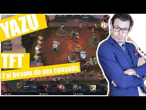 YAZU | Son premier STREAM sur Teamfight Tactics ( TFT ). Rejoignez YAZU sur YOUTUBE & TWITCH YazuPRO