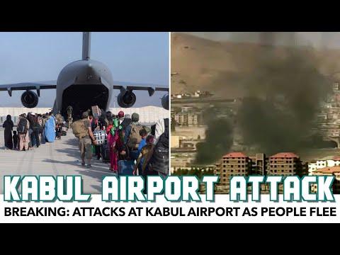 BREAKING: Attacks At Kabul Airport As People Flee