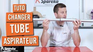 Comment changer ou déboucher un tube d\'aspirateur
