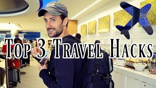 Top 3 Airport Travel Hacks For The Frequent Traveler
