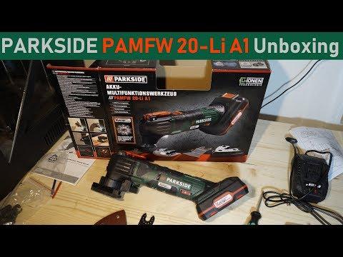 Parkside PAMFW 20-Li A1 Multifunktionswerkzeug