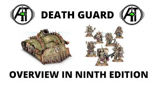 Death Guard in 9th Edition - Overview, Best Units and Tactics