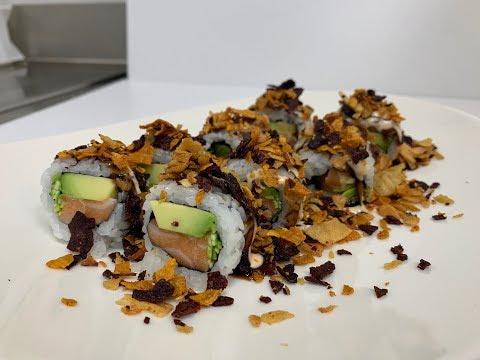 Lezioni di sushi: come si fa il crunch roll