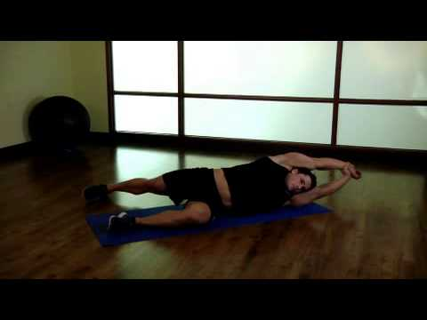 Side-Lying Floor Stretch