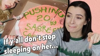 Pushing 20 ~ Sabrina Carpenter Reaction