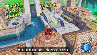 Super Mario Sunshine HD Episode 36 Shadow Mario Checks In