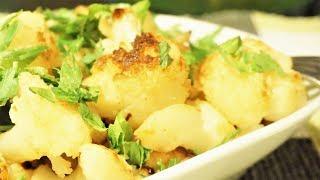 Цветная капуста, как жареная картошка/Karnabahar kizartma