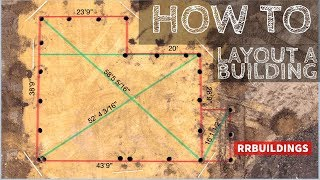 How To Layout A Building: The Start Of A Build Series