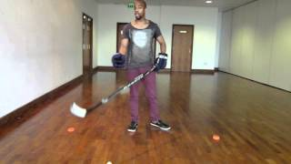 How to Stickhandle In Hockey - Stickhandling Guide Basics For Beginners With Off Ice Hockey Drills