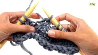 How to knit 3 stitches together (k3tog)