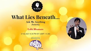 What Lies Beneath - AMA feat. Lalit Bhamare
