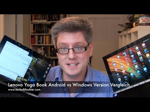Lenovo Yoga Book Android vs Windows Version Vergleich