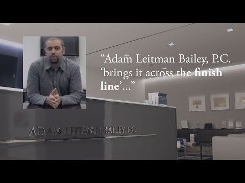 "Adam Leitman Bailey, P.C. ""brings it across the finish line"" testimonial video thumbnail"