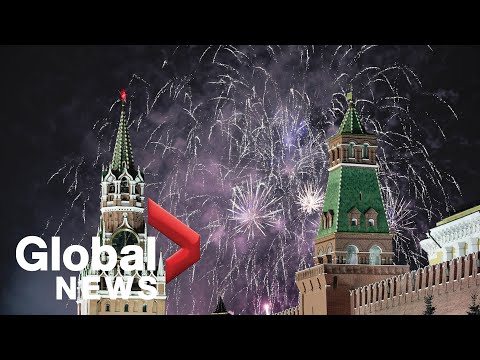 MOSKOVA'DA 2020 HAVAİ FİŞEK ŞOVU