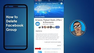 How to Delete Facebook Group On Mobile   Mobile App