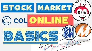 COL Financial Tutorial for Beginners : How  to start and invest in Philippine Stock Market Online