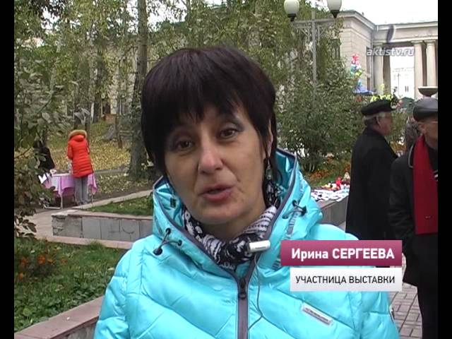 В осеннем «Арбате» приняли участие мастера со всей Иркутской области