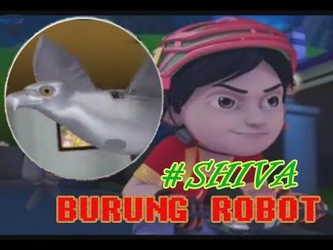 Shiva kartun terbaru ~ Burung Robot