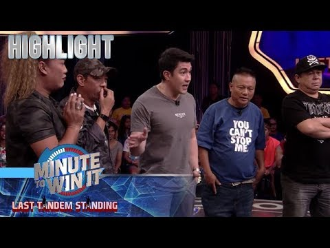 Long at Negi, tinapatan ang offer nina Dennis at Andrew E. | Minute To Win It