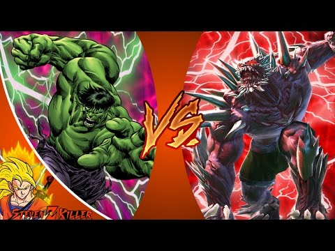 HULK vs DOOMSDAY! Cartoon Fight Club Episode 107 REACTION!!!