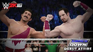 WWE 2K16 Creations: The Vaudevillains Debut Attire! (PS4)