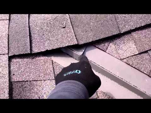 Post installation roof evaluation