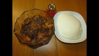 Congolese Epinard (Spinach) Na Makoso #VarietyCuisine