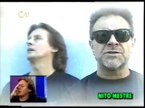 Nito Mestre video Filmó su primer video - Entrevista CM | 2000