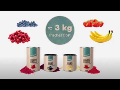 frooggies Fruchtpulver - so wird's hergestellt
