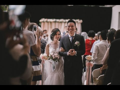 Malaysia Heartwarming Chinese + Church Wedding | Fred & WeiSin