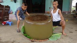 Làm Viên Thạch Rau Câu Lớn Nhất Việt Nam - Khuôn Đúc Viên Thạch Khổng Lồ Này Là Gì ?