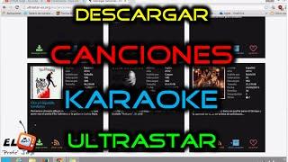 Como Descargar + Instalar las Canciones del Karaoke UltraSTAR Deluxe | Todas las canciones