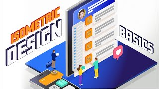Isometric Design Basics - Create 3D Design Illustrations Easily Using The Isometric Grid