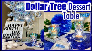 EASY DIY DOLLAR TREE DESSERT TABLE