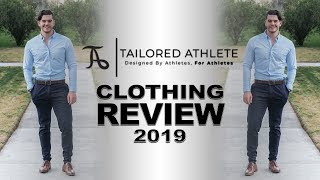 MENS CLOTHING TRY ON & REVIEW [2019 TAILORED ATHLETE HONEST REVIEW]