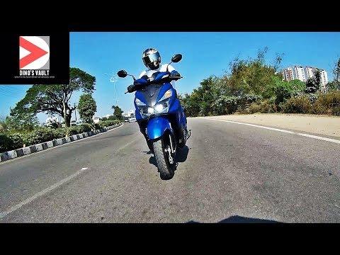 Honda Grazia First Ride Review, Walkaround #ScooterFest