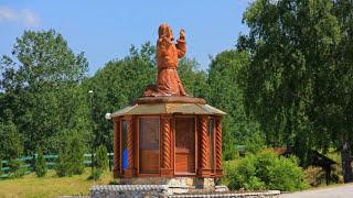 """Святой источник """"Салаир"""", Кемеровская область."""