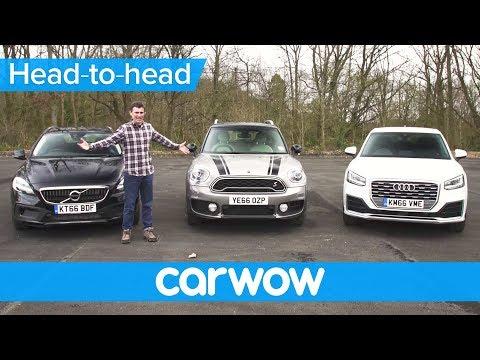 Audi Q2 vs MINI Countryman vs Volvo V40 XC – which is the best small SUV? | Head2Head
