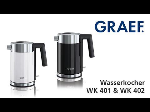 Graef Edelstahl-Wasserkocher WK 401 & WK 402