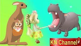 Đồ chơi trẻ em BÚP BÊ KN Channel VÀ CON TEM CỔ KỲ DIỆU tập 2 | SĂN TRỨNG ĐÀ ĐIỂU