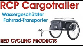 RCP Cargo Trailer 2016 / Red Cycling Products Fahrradanhänger