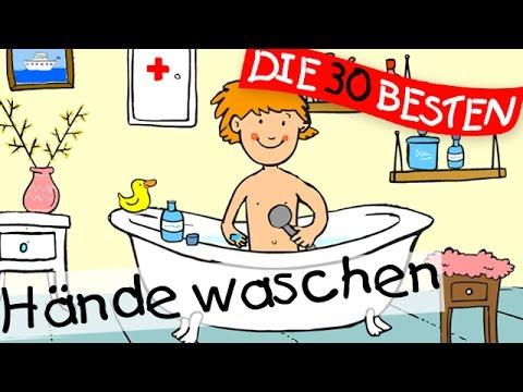 Hände waschen  - Bewegungslieder zum Mitsingen || Kinderlieder