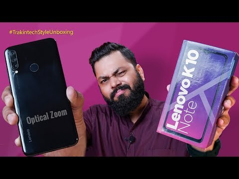"Lenovo K10 Note Unboxing & First Look ⚡⚡⚡ Kya Ye Naya ""Note"" Chalega??"