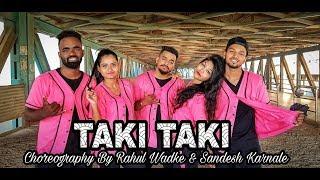 DJ Snake - Taki Taki ft. Selena Gomez, Ozuna, Cardi B |Rahul Wadke & Sandesh Karnale Choreograhpy